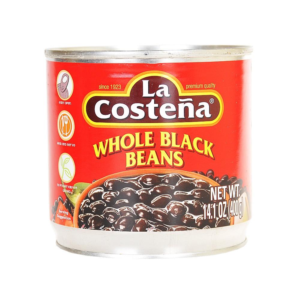 La Costena Whole Black Beans 400g
