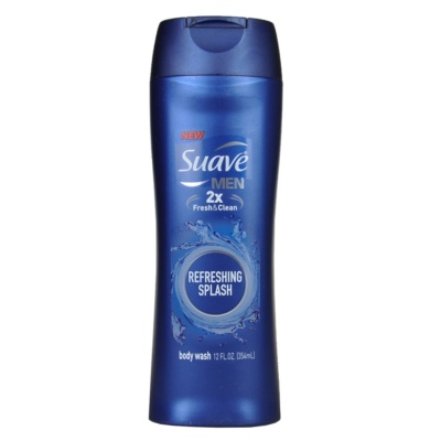 Suave 2X Fresh & Clean Refreshing Splash Body Wash 354ml
