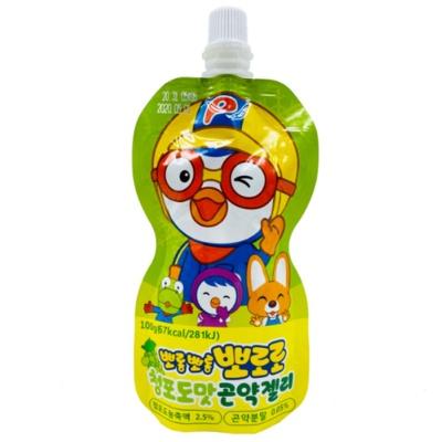 啵乐乐青葡萄味魔芋果冻 100g