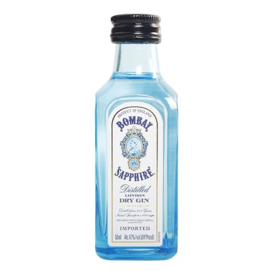 Bombay Sapphire Distilled Dry Gin 50ml
