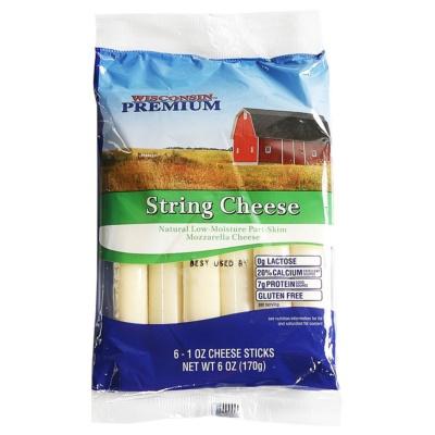 Wisconsin Premium String Cheese 170g