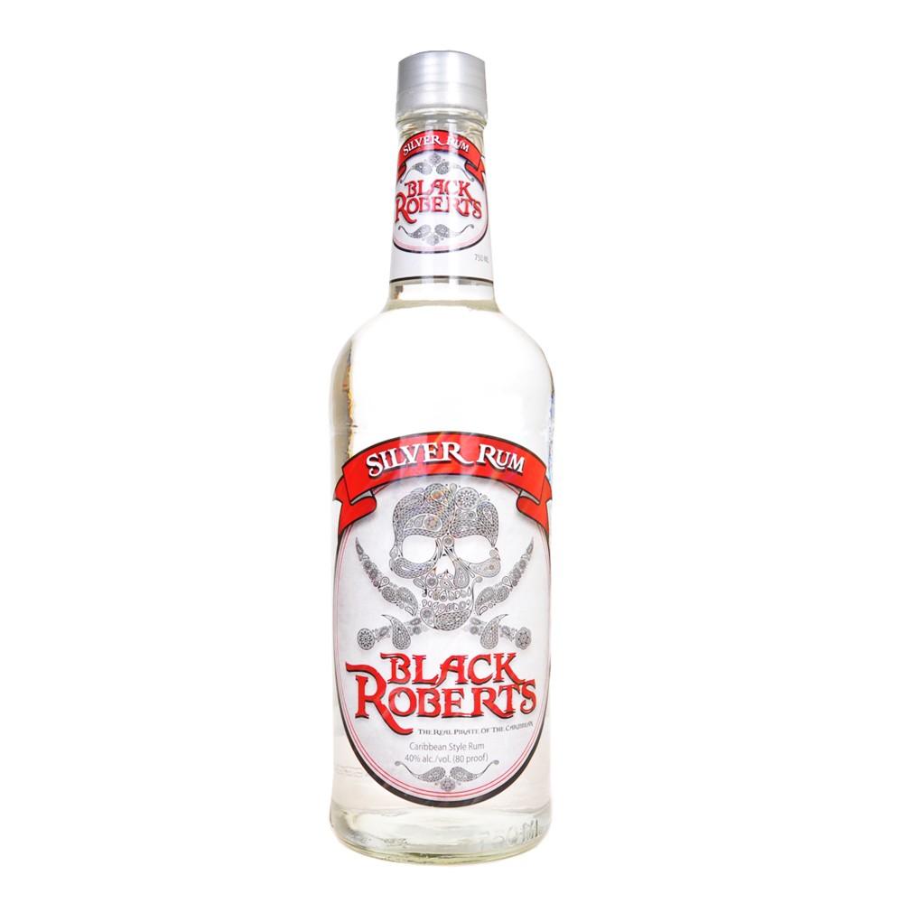 Black Roberts Silver Rum 750ml
