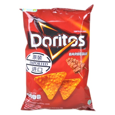Doritos Barbeque Tortilla Chips 160g