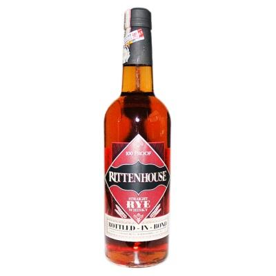 Rittenhouse Straight Rye Whisky 750ml