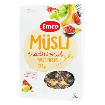 Emco Traditional Oats (Mix Cereals) 175g