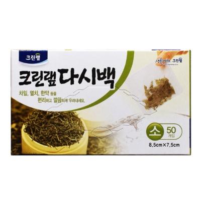 韩国克林莱茶袋8.5*7.5cm 50p