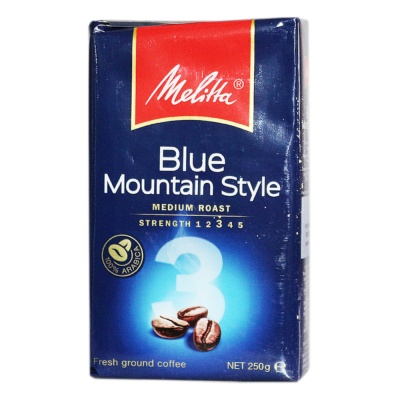 Melitta Blue Mountain Style Fresh Ground Coffee 250g