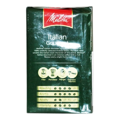 Melitta Medium-Strong Italian Coffee Powder 250g