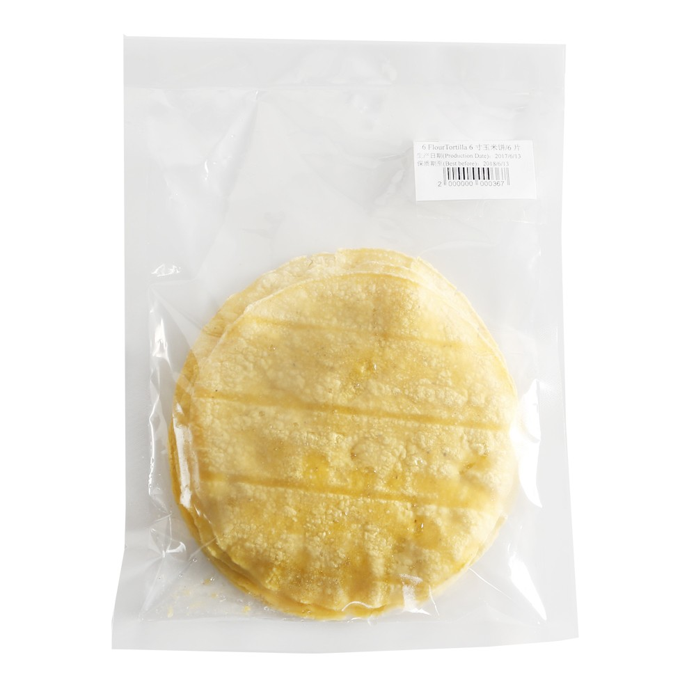 6 Inch Yellow Tortilla 6pcs