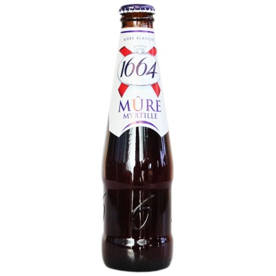 Kronenbourg 1644 Blueberry Flavor Beer 250ml
