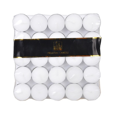 50粒装蜡烛(白色)