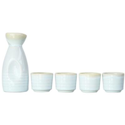 Japanese-Style Ceramic Jug&Cups-Spring Scenery