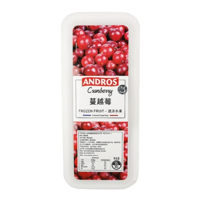 Andros Frozen Cranberry 500g