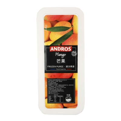 Andros Frozen Mango Puree 1kg