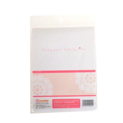 喜之焙粉色蕾丝面包饼干包装袋10个装
