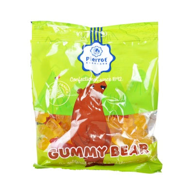 Plerrot Gourmand Gummy Bear Soft Candy 125g