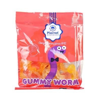 Pierrot Gourmand Gummy Worm Candy 125g