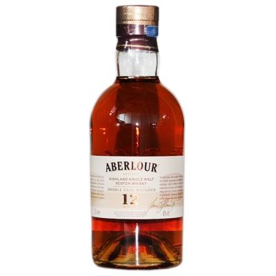 亚伯乐高地单一麦芽苏格兰威士忌12年双桶陈酿 700ml