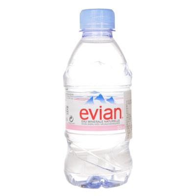 Evian Natural Mineral Water 330ml