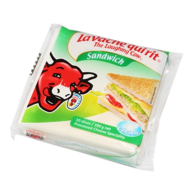 The Laughing Cow Original Sandwich Cheese 10T 200g