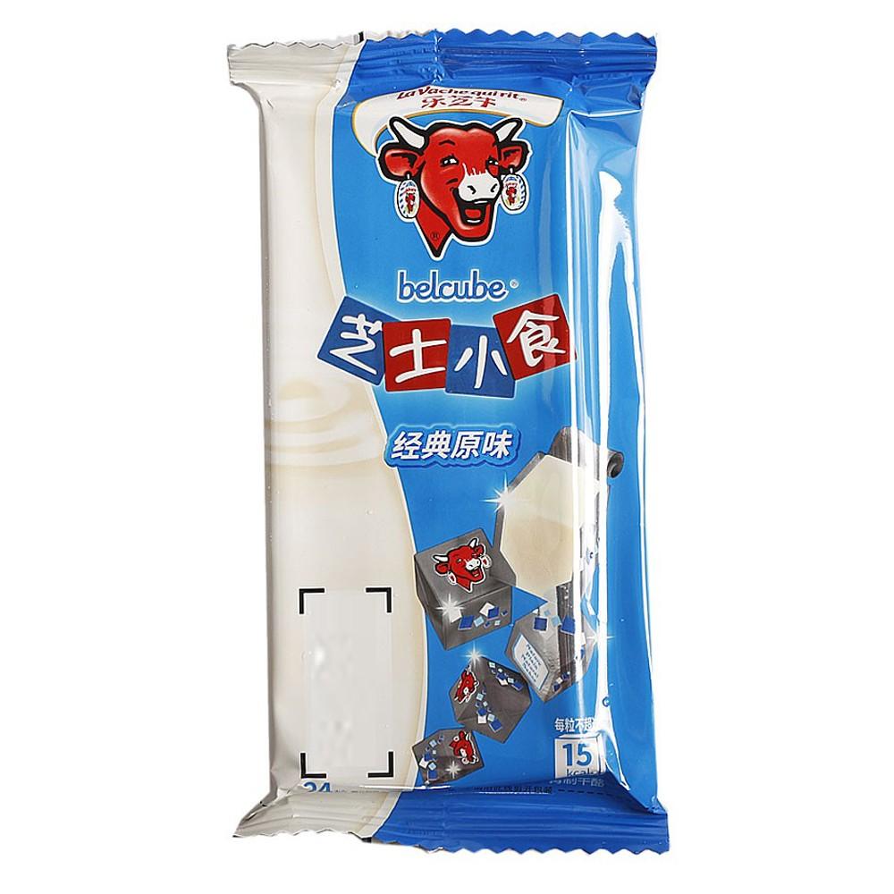 乐芝牛蓝盒原味粒奶酪 125g