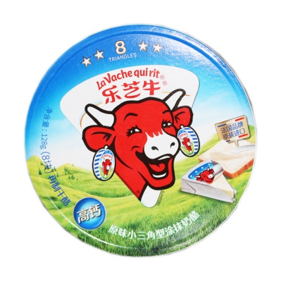 La Vache qui rit Soft-Ripened Cheese 128g