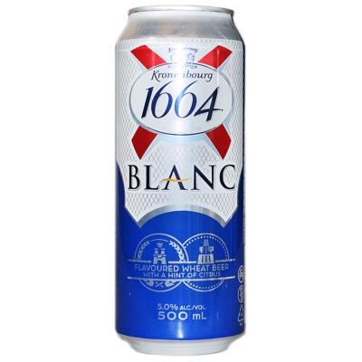 凯旋1664白啤酒(听装) 500ml