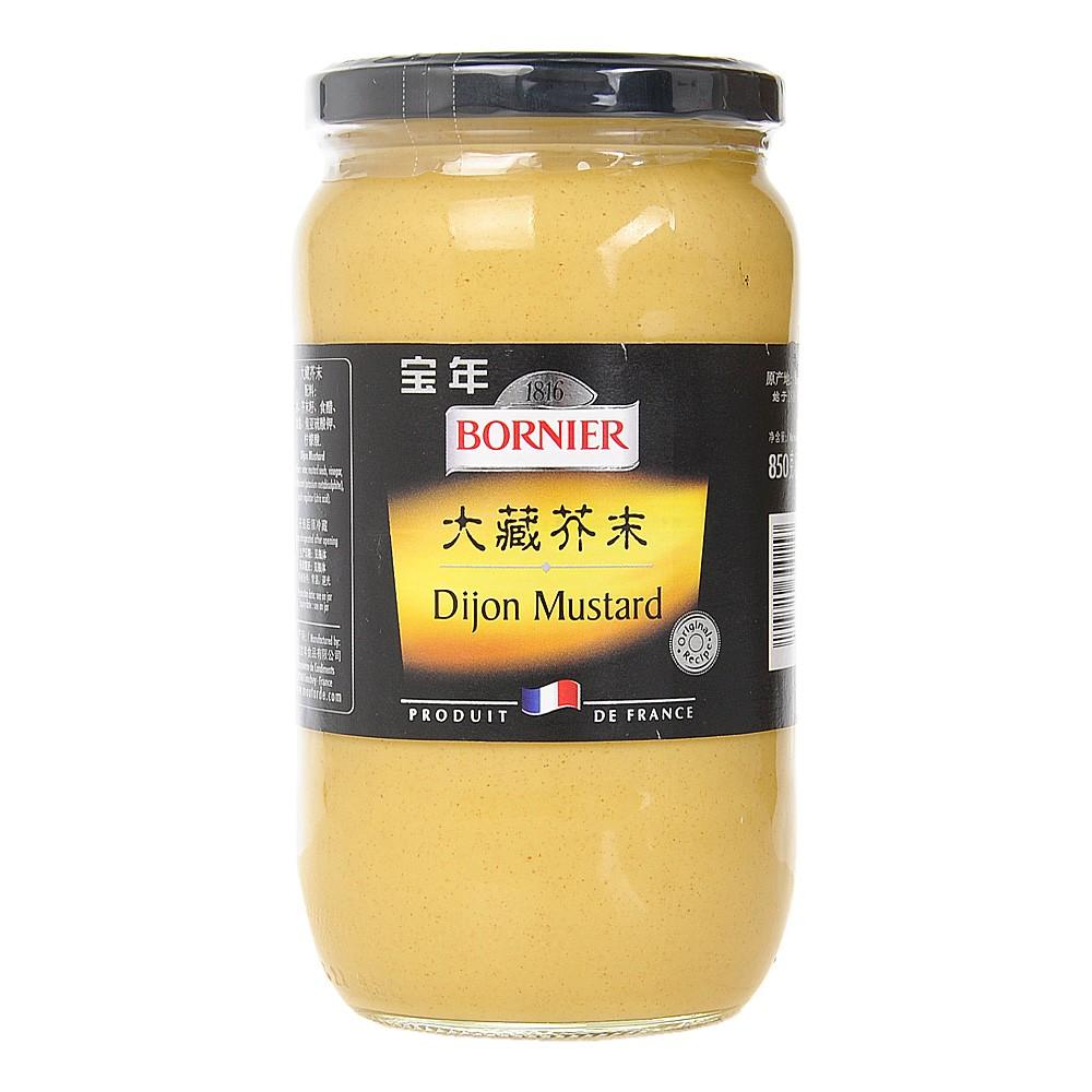 Bornier Dijon Mustard 850g