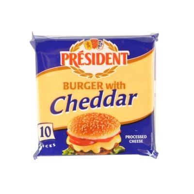 总统牌汉堡专用奶酪片 200g