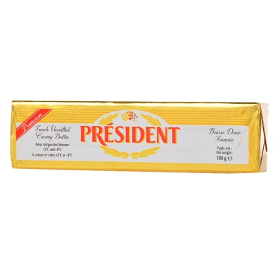 President French Unsalted Creamy Butter 100g