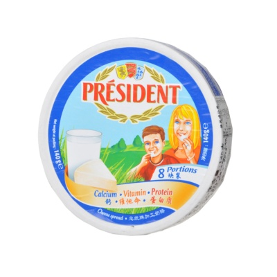 President Processed Cheese (8 Portion) 140g
