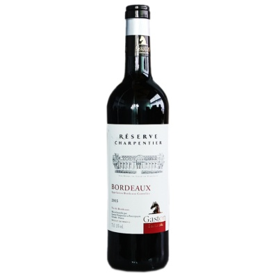 Gaston Bordeaux Reser Ve Charpentier 750ml