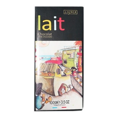 Lignia Lait Milk Chocolate 100g