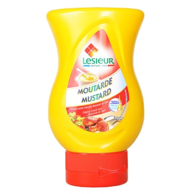 Lesieur Mustard Sauce Squeeze Bottle 240g
