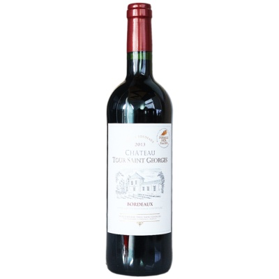 Tour Saint Georges Bordeaux Dry Red Wine 750ml