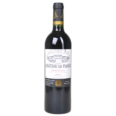 Chateau La Plaige Red Wine 750ml