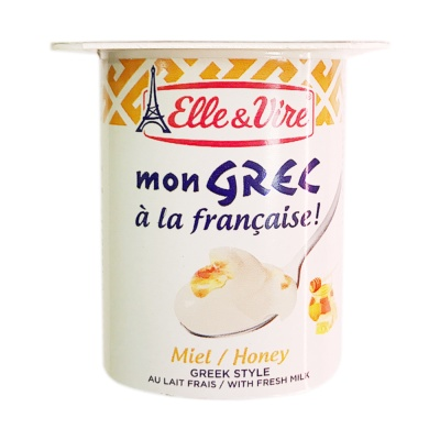 E&V Greek style dessert Honey 125g