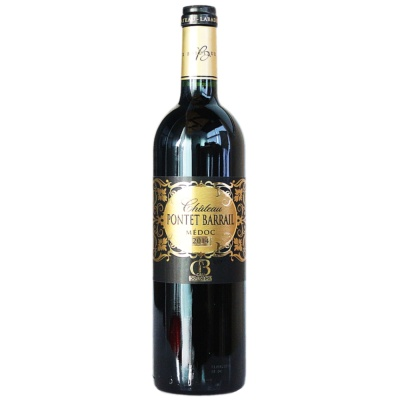 Pontet Barrail Dry Red Wine 750ml