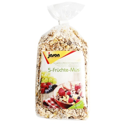 Jason 5-Fruit Muesli 500g