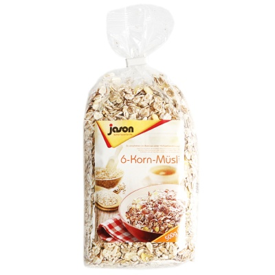 Jason 6-Cereal Muesli 500g