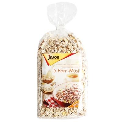 捷森六种谷物麦片 500g