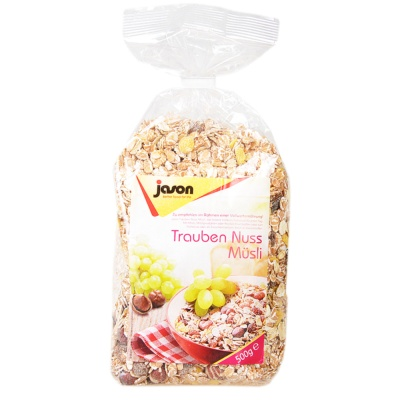 Jason Raisin Nuts Muesli 500g