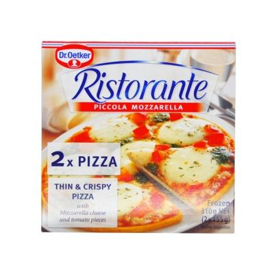 Dr.Oetker Piccola Mozzarella Ristorante Pizza 310g