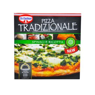 Dr.Oetker Spinach&Ricotta Tradizionale Pizza 405g