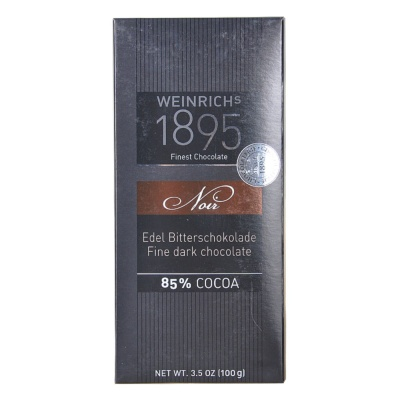 Weinrich's 1895 85% Cocoa Dark Chocolate 100g