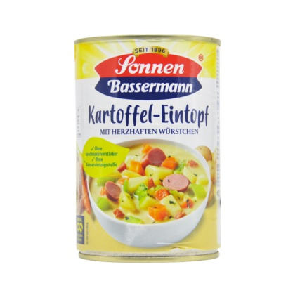 Sonnen Potato Sausage Soup 400ml