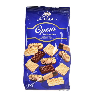 Lilia Assortment Of Wafers 400g