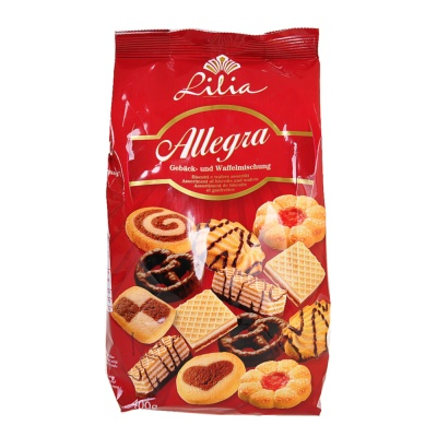 Lilia Assortment Of Biscuits And Wafer 400g