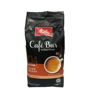 Melitta Cafe Bar Dark Roast 100% Arabica Coffee Beans1kg