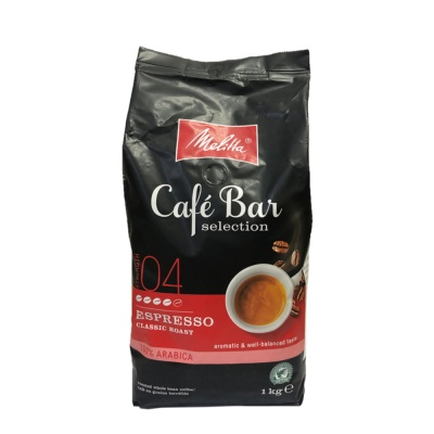 Melitta Cafe Bar Classic Roast Espresso 100% Arabica Coffee Beans1kg
